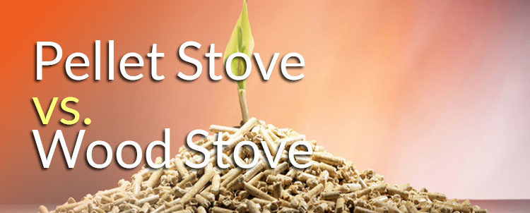 wood stove vs pellet stove